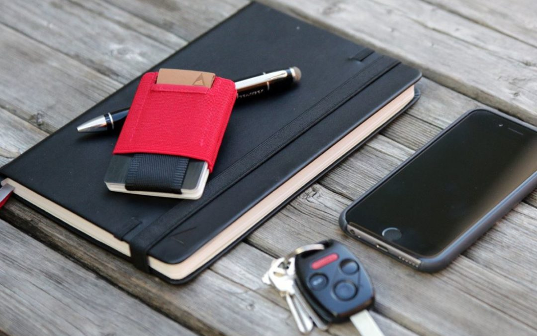 How the Slim Wallet helps with Organization