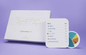 image of ancestry dna test kit