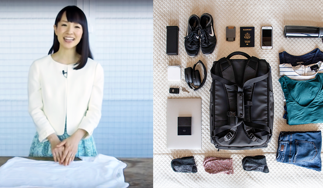 Hate packing? Try these 7 tricks from Marie Kondo.